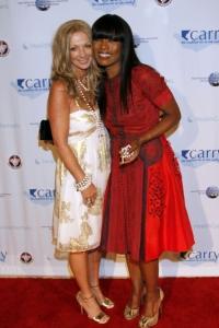 Angela Bassett and Julie Miles